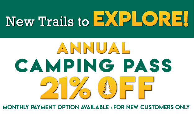 New Trails to Explore! 21% OFF Thousand Trails Camping Pass