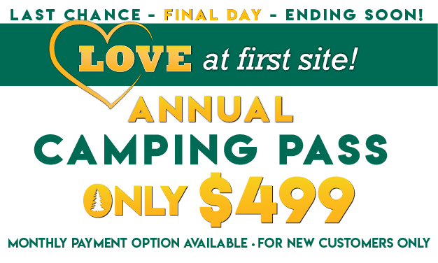 Love at First Site! Thousand Trails Camping Pass Only $499