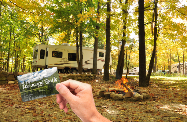 Fall Breeze, Autumn Leaves, & Camping Please! 20% OFF Camping Pass