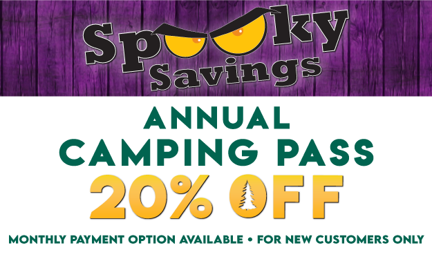 Spooky Savings! 20% OFF Camping Pass