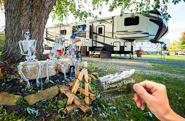 Spooky Savings! 20% OFF Thousand Trails Camping Pass