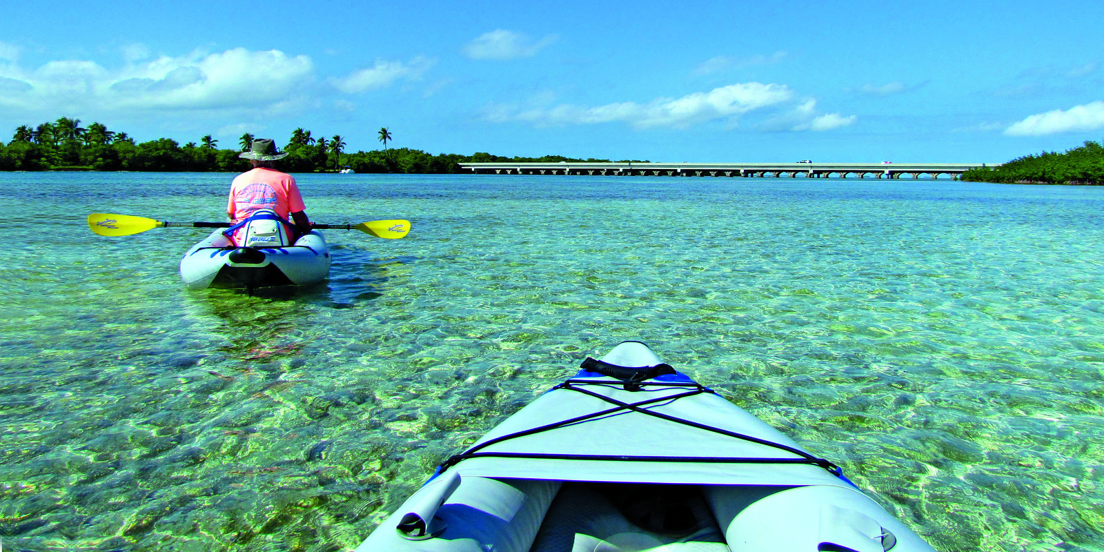 Sunshine Key RV Resort and Marina Kayakers